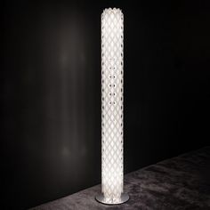 Charlotte Floor Lamp by Slamp gives your home a modern look by adding perfect light to it. This LED light creates a warm ambiance by casting a soft illumination. It is a contemporary piece of lighting that has a cylindrical shape with a honeycomb pattern Honeycomb Pattern, Modern Floor Lamps, Stainless Steel Material, Charlotte, Chandelier, Led, Flooring, Contemporary, Lighting