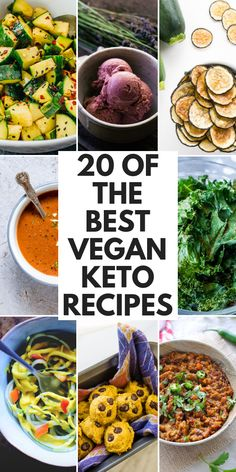 abendessen 32 Vegan Keto Recipes 20 Best Vegan Keto Recipes for a Low-Carb Diet - From breakfast to lunch, dinner and snack time; we've got you covered with this healthy and delicious recipe round-up of low-carb, high-fat vegan keto recipes! Keto Vegan, Vegan Keto Recipes, Vegetarian Keto, Diet Recipes, Lunch Recipes, Vegan Keto Diet Plan, Dessert Recipes, Best Low Carb Recipes, Vegan Meal Plans