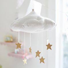 Luxe Star Cloud Mobile | The Land of Nod