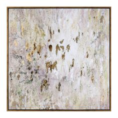 Found it at Wayfair - Raindrops Modern Abstract Framed Painting Print