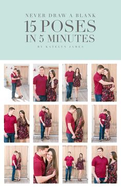 Katelyn James Photography free downloadable resource for photographers to maximize poses in each location!