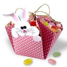 Easter Bunny Treat Basket