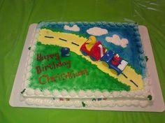 My son's 2nd birthday cake