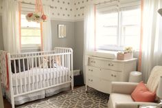 Crib  | Glider  | Quilt  | Rug (similar)  | Mobile (similar)     I can't believe the nursery is finally done! I am due tomorrow, October ...