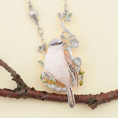 🌿🌼:: The Sparrow Long Pendant :: 🐦🌿 . Still Life Photography, Fashion Photography, Fashion Jewellery, Ss16, Statement Jewelry, Woodland, Enamel, Jewelry Design, Birds