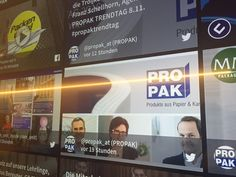 Social Wall. PROPAK. TrendTag 2016. Standort. Innovation. Wettbewerb. Age, Trends, Fitbit, Innovation, Products
