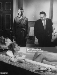 The Grass Is Greener - backstage 2 - Deborah Kerr, Cary Grant and Stanley Donen