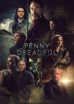 Penny Dreadful by Jai McFerran Period Drama Series, Period Dramas, Eddie Vedder, Dorian Gray, Penny Terrible, Penny Dreadful Tv Series, Penny Dreadfull, Love Tv Series, Showtime Series