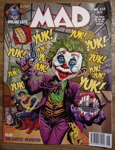 Richmond Illustration Inc. Mad Magazine, Magazine Covers, Alfred E Neuman, American Humor, Mad Tv, Joker Makeup, Buy Edibles Online, Mad World, You Mad