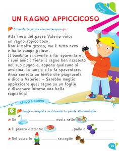 Il Filo delle idee - by ELI Publishing - issuu Italian Vocabulary, English Vocabulary, Italian Lessons, Reading Practice, Italian Language, Learning Italian, Reading Material, Special Needs, Letting Go