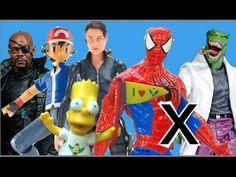 Abrindo Maria Hill Nick Fury SHIELD Minecraft Ash Pokemon Bart Simpsons ...  #minecraft #steve #creeper #enderman  #game #jogo #play #ps4 #xbox #xboxone #toys #toys #おもちゃ  #dolls #doll #kids #kids  #puppet #lego #imaginext #marvel #DC #Comics #escola #school #educação #education #kid #kids #lol #usa