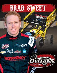 World of Outlaws Craftsman Sprint Car Series - Brad Sweet