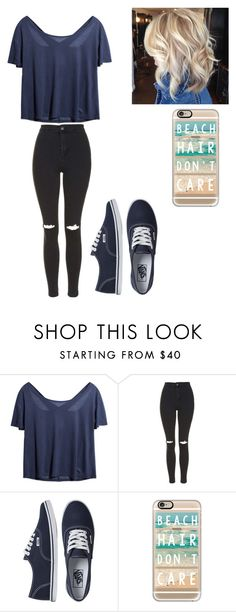 Untitled #141 by altxya on Polyvore featuring Topshop, Vans and Casetify