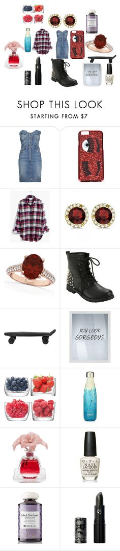 """""""restaurant"""" by knmaem on Polyvore featuring Moschino, Chiara Ferragni, Madewell, Allurez, BoConcept, PTM Images, LSA International, S'well, Agraria and OPI"""