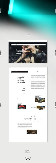Czech National Gallery—Visual Identity on Behance