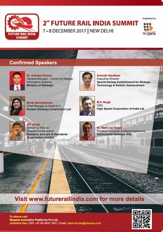 Pleased to be a Media Partner with 2nd Annual Future Rail India Summit. Register Today   #RailAnalysis #RailEvent