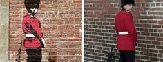 O anônimo mais conhecido no mundo, Banksy, ganha uma releitura da sua arte de rua e de protesto pelo fotógrafo londrino Nick Stern.