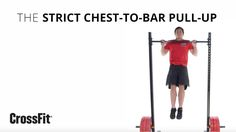 CrossFit Strict Chest-To-Bar Pull-UP
