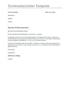 Example Of Termination Letter To Employee Impressive Image Result For Example Of Resignation Letter  Exit  Pinterest .