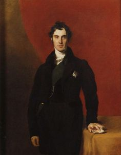 """Thomas Lawrence 1829 """"Fourth Earl of Aberdeen"""""""