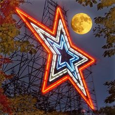 Star on Mountain above roanoke Va there is a children's zoo there to