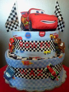 Disney: Cars Diaper Cake!