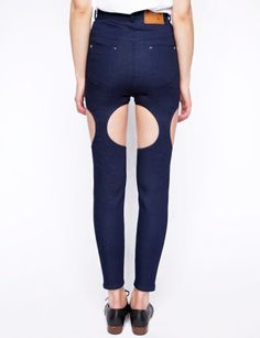 // Cut Out trousers