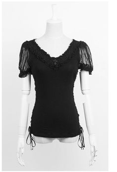 New Punk Rave Rock Goth Top Blouse T-shirt T-316 ALL STOCK IN AUSTRALIA FastShip