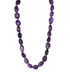 Another great find on #zulily! Amethyst Beaded Necklace #zulilyfinds