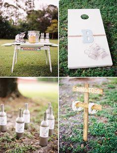 Il n'y a pas que les petits invités qui on le droit de jouer le jour de votre mariage!   Pensez aux grands qui pourront retomber en enfance...