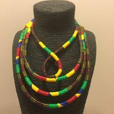 Collier original et élégant multirang et boucle en Wax par Bubuco pour Afrikrea. https://www.afrikrea.com/article/collier-boucle-wax-bubu-co-colliers-mi-longs-multicolore-pour-elle-wax/V6PWA2P?utm_content=buffer5c3d1&utm_medium=social&utm_source=pinterest.com&utm_campaign=buffer