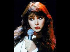 Kate Bush - L'amour Looks Something Like You    I was going to make a playlist of songs that give me a physical heart ache but it ended up being something like 95% Kate Bush songs.