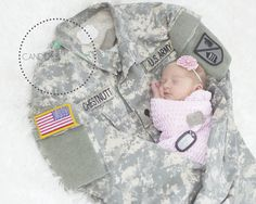 Military baby newborn photo. photography by https://www.facebook.com/CandidsandColorsPhotography