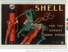 Shell : for the utlost horse power : [affiche] / [Jean d'Ylen] - 1