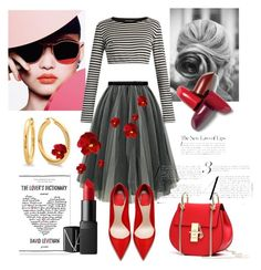 """""""For the love of Paris"""" by aheavingham on Polyvore featuring Dolce&Gabbana, NARS Cosmetics, paris and Glamour"""