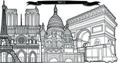 Vanity Fair Magazine Jitesh Patel Illustration - Paris