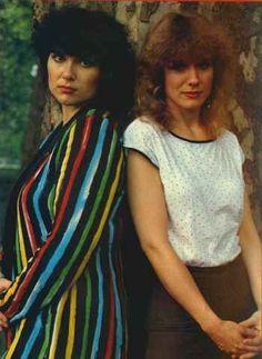 Ann and Nancy Wilson of Heart, women who rock.
