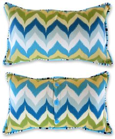 Weekend Wonders with Fabric.com: Outdoor Piped Pillow Trio | Sew4Home
