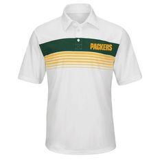 NFL Mens Green Bay Packers Synthetic Polo  Shopko Nfl Green Bay 77341f3cb