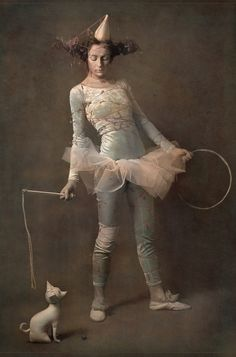 circus Photo by Photographer Matushka Medouz Dark Circus, Circus Art, Circo Steampunk, Circus Aesthetic, Art Du Cirque, Circus Fashion, Pierrot Clown, Circo Vintage, Send In The Clowns