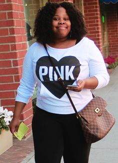 Amber Riley out in Beverly Hills (January 28, 2016)