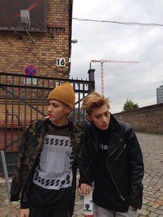 Kris and Tao #EXO