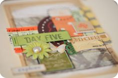 Tuesday Tutorials : Shimelle Laine : A Journal For Travels Ahead | Ali Edwards