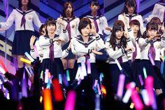 乃木坂46「真夏の全国ツアー2013」Zepp Tokyo公演の様子。