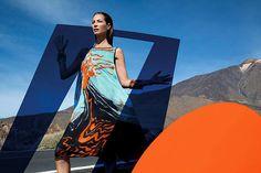 Christy Turlington en la campaña de Missoni primavera verano 2014 fotografiada por Viviane
