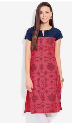 442fdcd241 Kurti Neck Designs, Chudidhar Neck Designs, Salwar Designs, Saree Blouse  Designs, Kurti