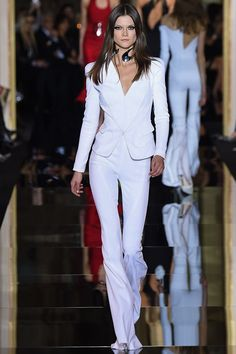 Who else but Donatella could create the modern take on Bianca Jagger's infamous suit? - Photo: Indigitalimages.com