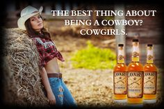 The best thing about being a Cowboy? Cowgirls.