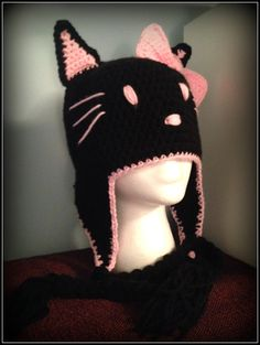 Hello Kitty hat - finished product