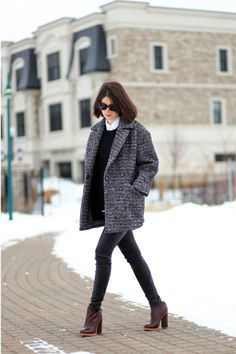 Oversized Sandro Coat